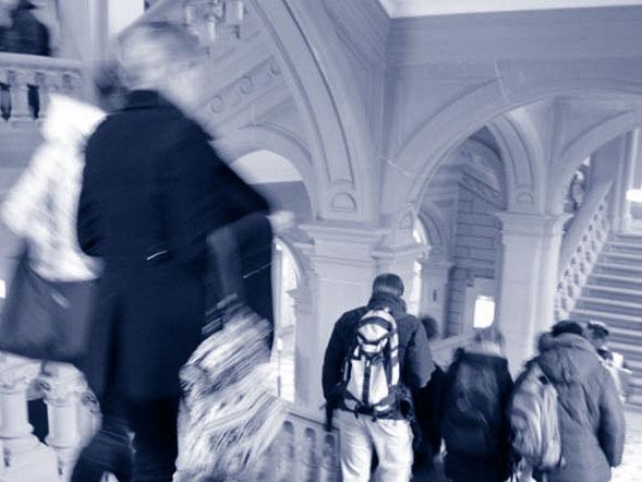 Titelbild: Studienführer Universität Bern